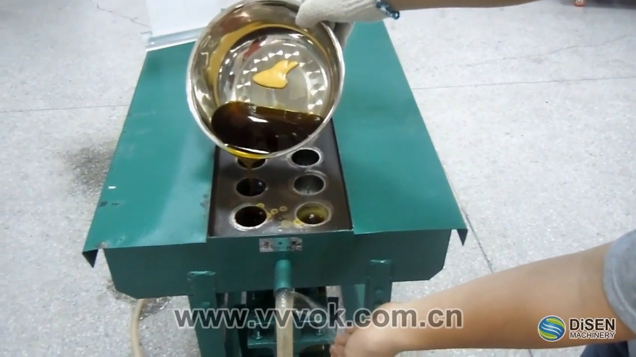 Manual Candle Making Machine You