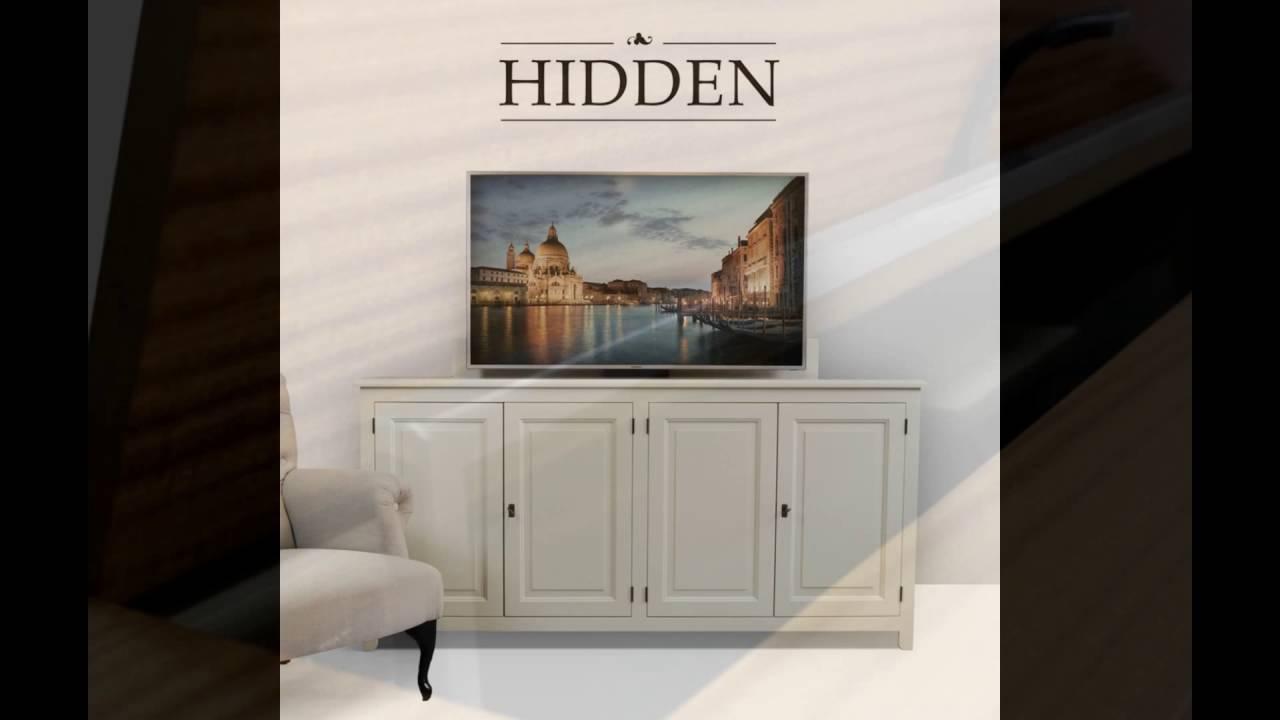 hidden tv lift youtube