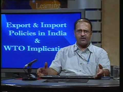 Export and Import Policies in India and WTO Implications