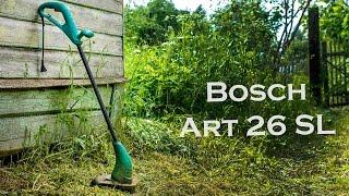 видео Триммер электрический Bosch ART 26 COMBITRIM