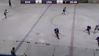 2019 Hlinka Gretzky Cup Highlights   USA 4, SVK 3 (OT)