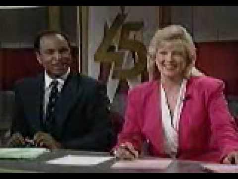 "WBFF Baltimore ""FOX 45""-""FOX 45 News"" 10:00pm Open/Close September 1992"