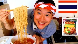 tom yam instant ramen mama mukbang with ben ep11