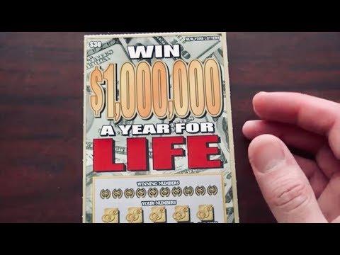 Raspando Un Billete de $30 Buscando El Million