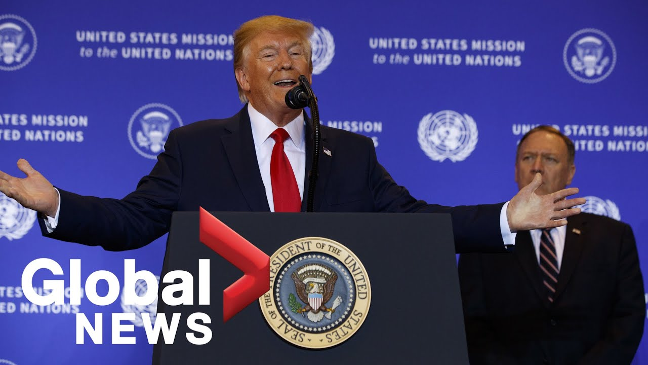 Trump speaks about Congressional impeachment inquiry, Ukraine phone call scandal | FULL