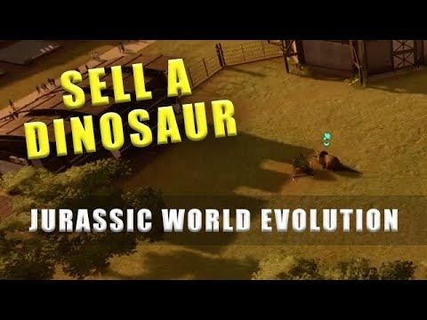 Как продать динозавра jurassic world evolution видео