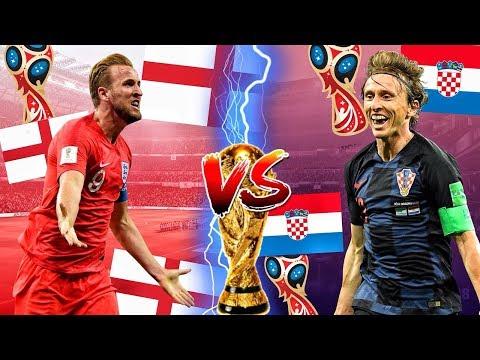 ENGLAND vs. KROATIEN  HALBFINALE WM 2018 PROGNOSE FIFA 18 Highlights