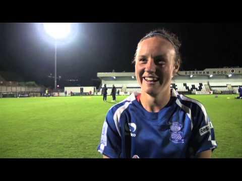 Allen Looking To Keep Good Form Going | Arsenal Ladies 0-2 Birmingham City Ladies | Interview