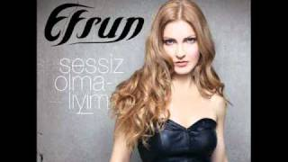 EFSUN - sessiz olmaliyim YENI ALBUM 2011