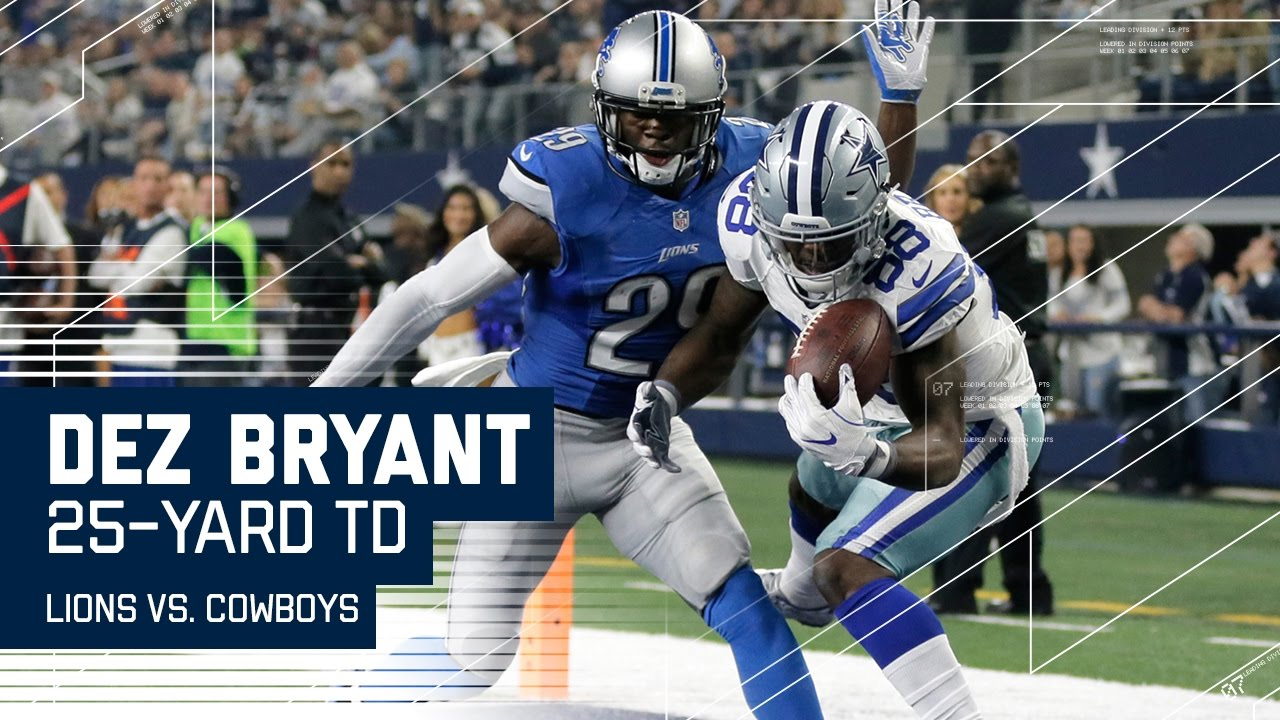 Dez Bryant Makes Amazing Juggling Td Catch Lions Vs Cowboys Nfl Week 16 Highlights