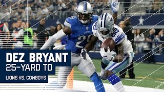 Dez Bryant Makes Amazing Juggling TD Catch! | Lions vs. Cowboys | NFL Week 16 Highlights