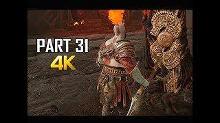GOD OF WAR Gameplay Walkthrough Part 31 - MUSPELHEIM (PS4 PRO 4K Commentary 2018)