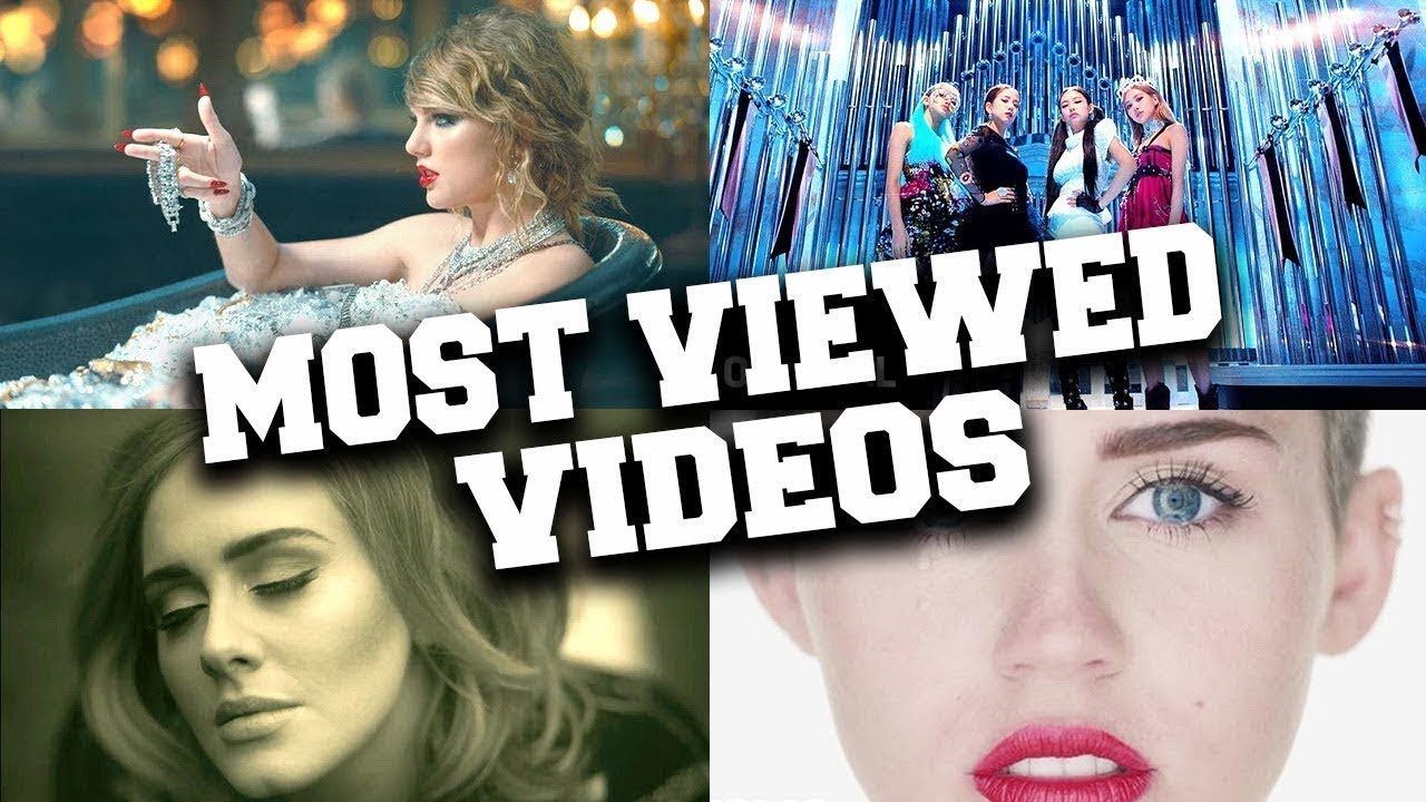 Most Viewed Music Video In The First 24 Hours Youtube