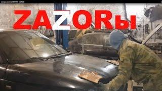 ВАЗ 2110 Регулировка Капота и Фар. СБОРКА МОРДЫ. Зазоры