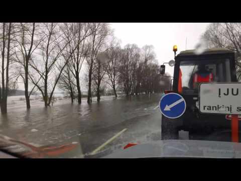 Rusnė potvynis 2017
