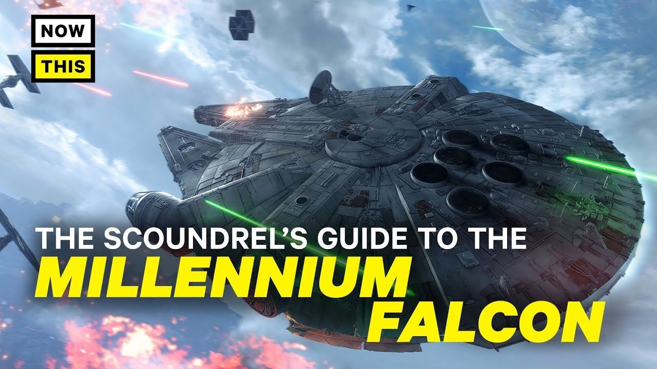 The Millennium Falcon Explained: A Scoundrel's Guide | NowThis Nerd