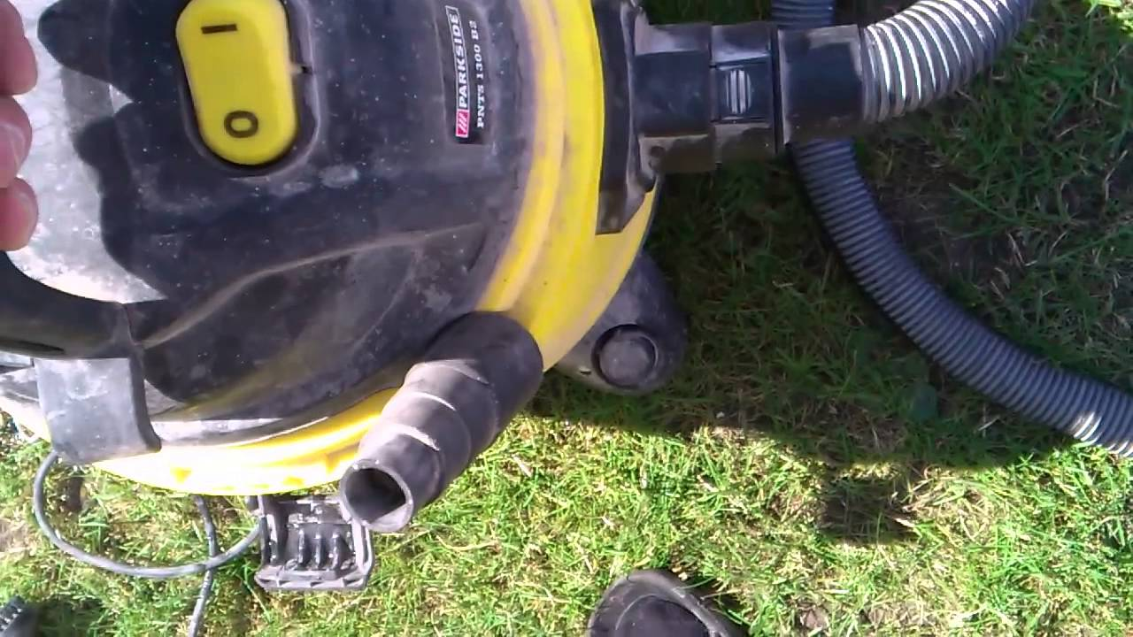 Aspirateur eau et poussiere parkside 1300 - Decapeur thermique lidl ...