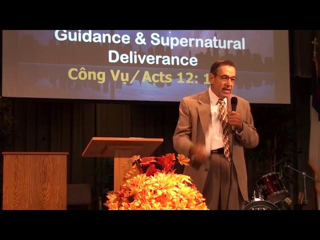 Công Vụ 12:1-24 -  SỰ BÀY TỎ VÀ GIẢI CỨU SIÊU NHIÊN