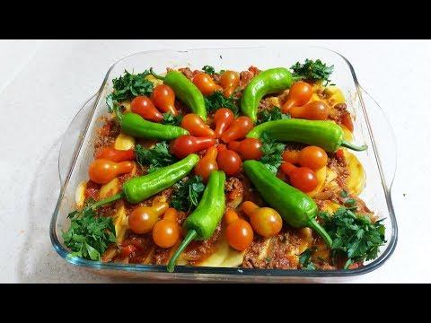 Pratik Patates Oturtma yemeği tarifi-Lezzetli Ev Yemekleri