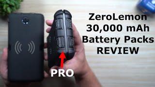 Massive ZEROLEMON 30,000mAh Battery Packs REVIEW