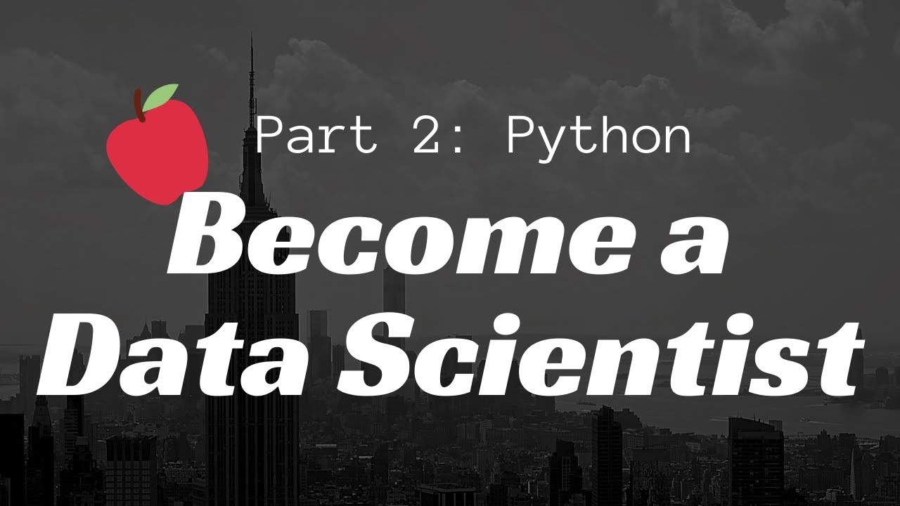 Coding with Python, Pandas, Numpy & Matplotlib: Become a Data Scientist in 3 Hours | Part 2