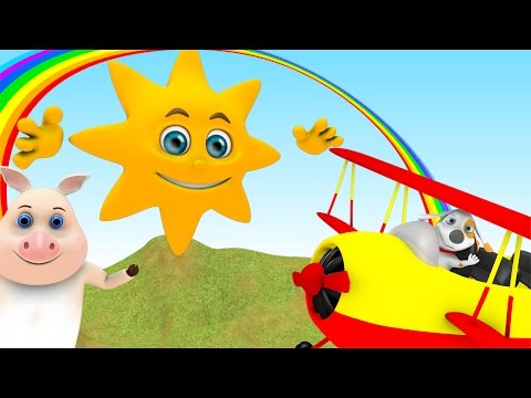 Mr Sun, Sun, Mr Golden Sun | Kids Song | Nursery Rhymes Songs Collection from Little Treehouse