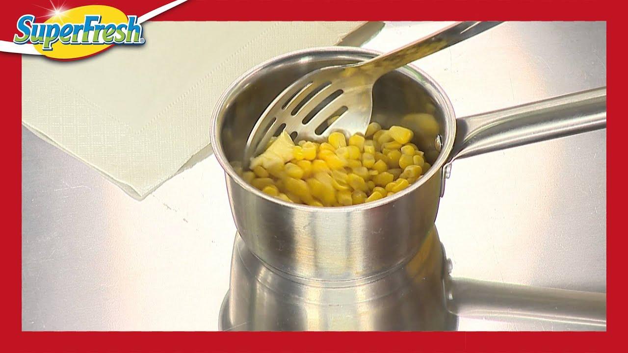 Bir çift kazan içinde mısır: pişirme sırları