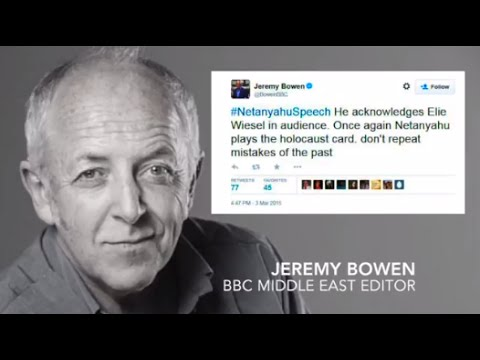 "BBC's Jeremy Bowen invents ""the Holocaust card"""