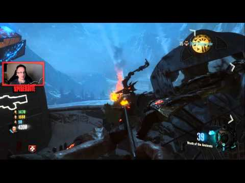 DER EISENDRACHE: Electrical Tornado Elemental Bow Upgrade Quest Line Step 1 - Lighting Fires