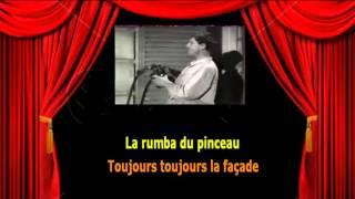 Karaoké Bourvil   La rumba du pinceau