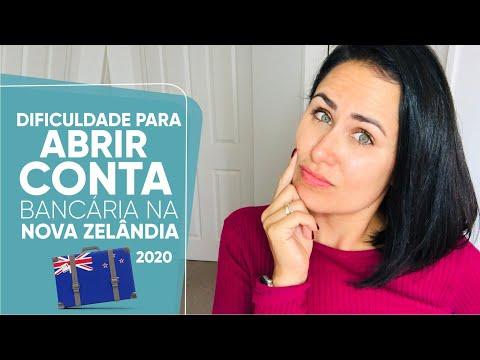 DIFICULDADE PARA ABRIR CONTA BANCÁRIA NA NOVA ZELÂNDIA EM 2020