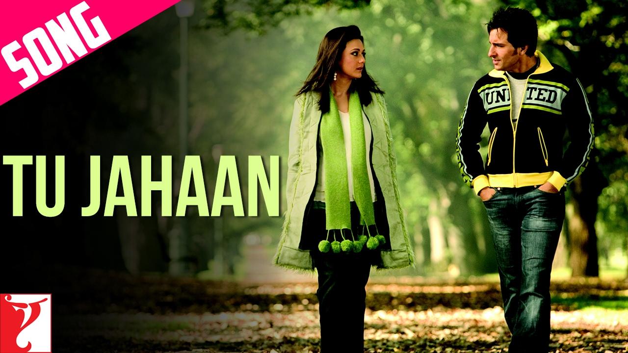 Download Tu Jahaan Song   Salaam Namaste   Saif Ali Khan, Preity Zinta, Sonu Nigam, Mahalaxmi, Vishal-Shekhar