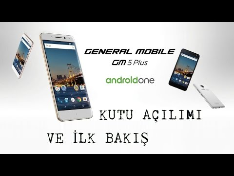 General Mobile Gm Plus Kutu Acilimi Ve Ilk Bakis