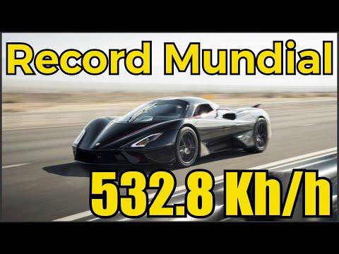 532.8 Km/h El Auto Más Rápido Del Mundo – SSC Tuatara