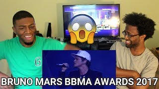 Bruno Mars - Versace on the Floor [Billboard Music Awards 2017] (REACTION)