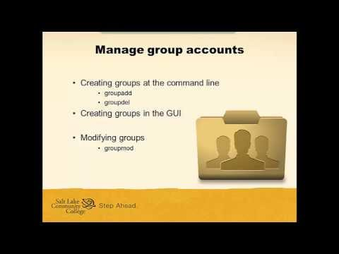 Managing Groups In Linux