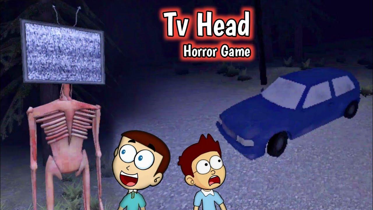 Tv Head : Horror Game | Shiva and Kanzo Gameplay