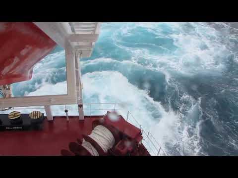 cargo ship in