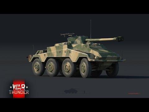 War Thunder [ Знак отличия №7 и Получаем Sd.Kfz.234/4 Schwerer Panzerspähwagen ]