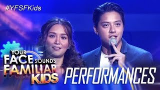 "Your Face Sounds Familiar Kids Finale: Kathryn and Daniel sing ""Can't Help Falling In Love"""