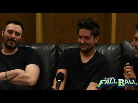 BREAKING-BENJAMIN FULL INTERVIEW AT ROCK 102.1 KFMA'S FALLBALL 2017 FESTIVAL