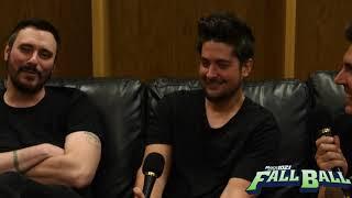 BREAKING BENJAMIN FULL INTERVIEW AT ROCK 102 1 KFMA S FALLBALL 2017 FESTIVAL