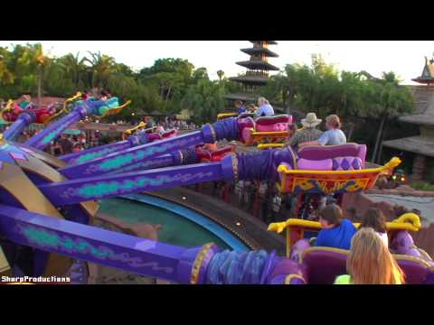 Magic Carpets of Aladdin (On-Ride) Disney World's Magic Kingdom