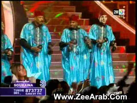 Hamid El Kasri Ft Saida Charaf Ft Tachnouit   Kechkoul Studio 2m 2012   حميد القصري و سعيدة شرف و تاشنويت