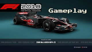 2008 McLaren MP4/23 - F1 2018 - 1080P 60 FPS