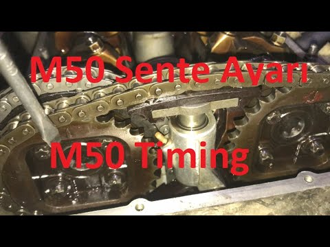 How to change timing chain on BMW n40 n45 n45t