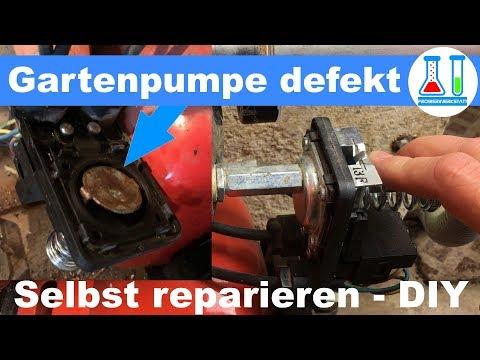 Favorit Gartenpumpe reparieren: Wasser läuft aus dem Druckschalter EL33