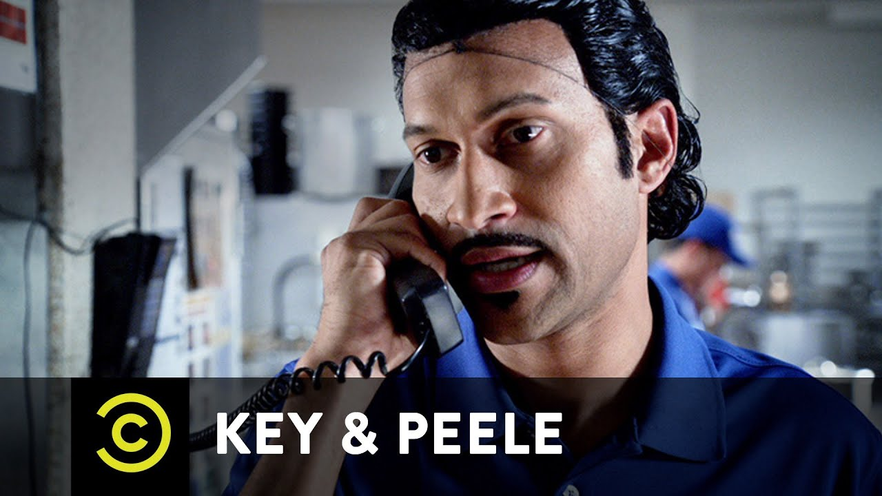 Key  Peele  Pizza Order  Youtube