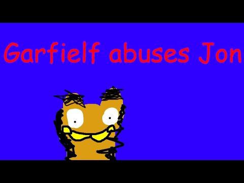 Garfielf abuses Jon