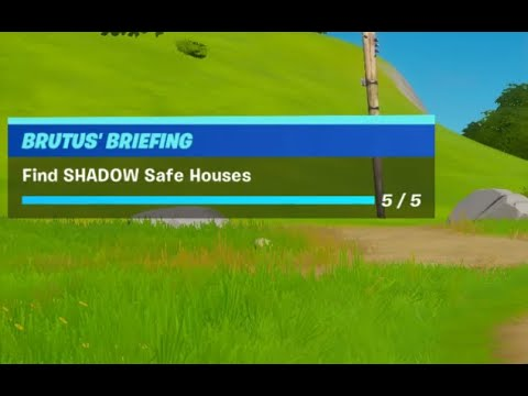 Find SHADOW Safe Houses Locations - Fortnite Battle Royale ...